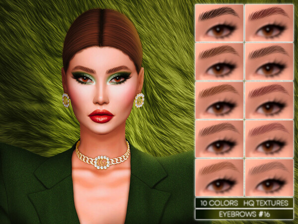 Eyebrows 16 by Jul Haos from TSR