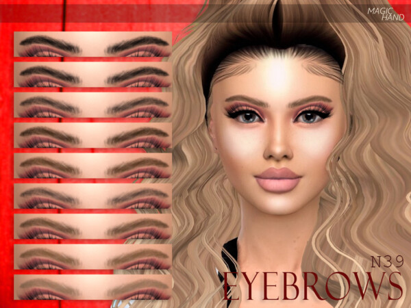 Eyebrows N39 by MagicHand from TSR
