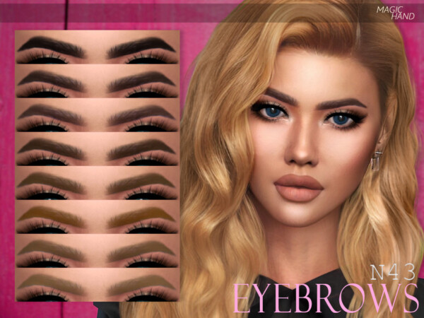 Eyebrows N43 by MagicHand from TSR