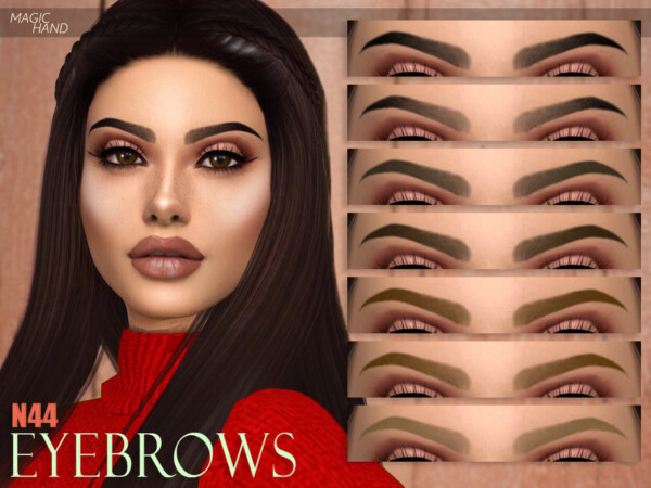Eyebrows N44 by MagicHand from TSR