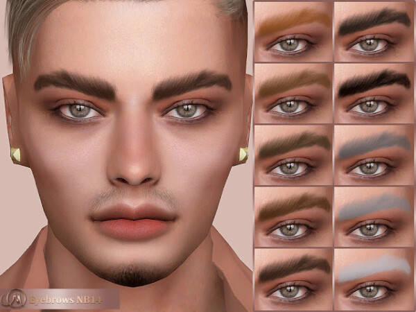 Eyebrows NB14 from MSQ Sims
