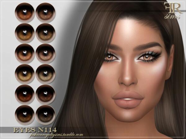 Eyes N114 by FashionRoyaltySims from TSR