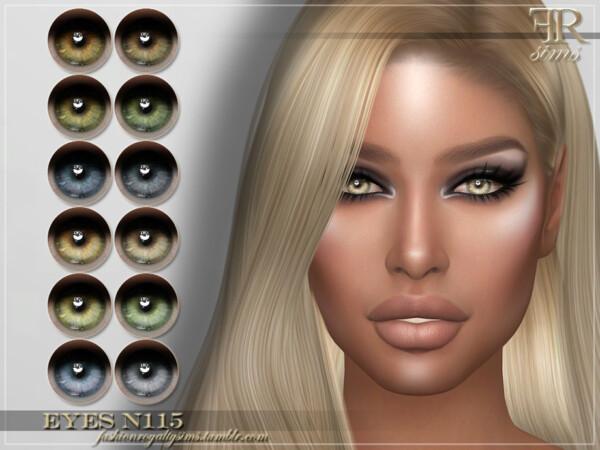 Eyes N115 by FashionRoyaltySims from TSR