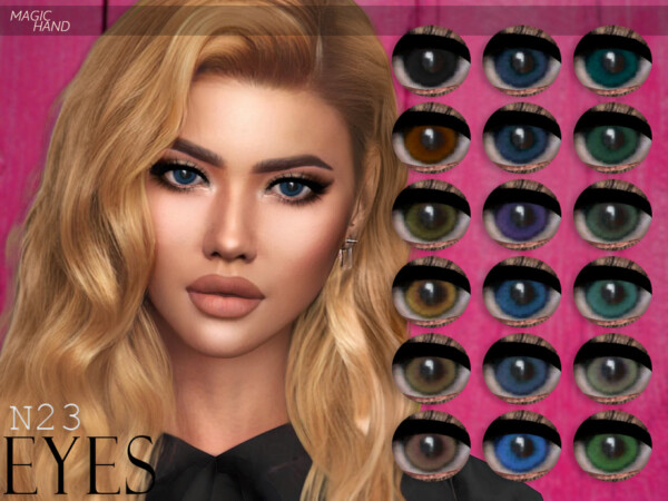 Eyes N23 by MagicHand from TSR