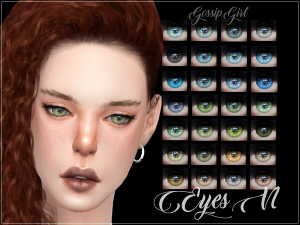 Eyes V1 by GossipGirl S4 from TSR