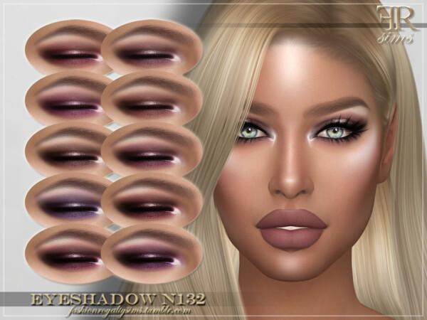 Eyeshadow N132 by FashionRoyaltySims from TSR