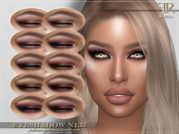 Eyeshadow N133 by FashionRoyaltySims from TSR