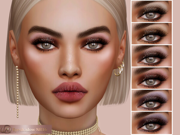 Eyeshadow NB16 from MSQ Sims