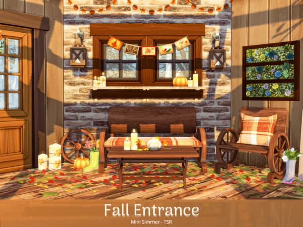 Fall Entrance House by Mini Simmer from TSR