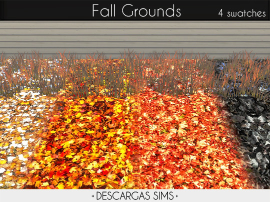 Fall Grounds from Descargas Sims