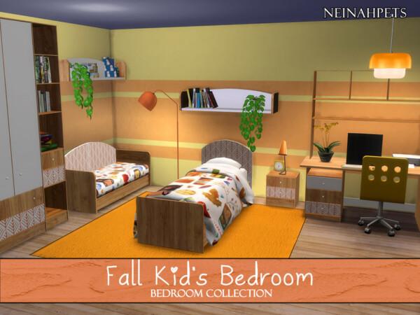 Fall Kids Bedroom by neinahpets from TSR
