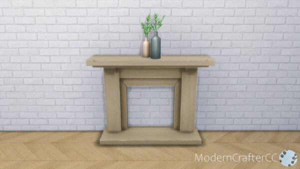 Faux Fireplace Facades Recolour from Modern Crafter