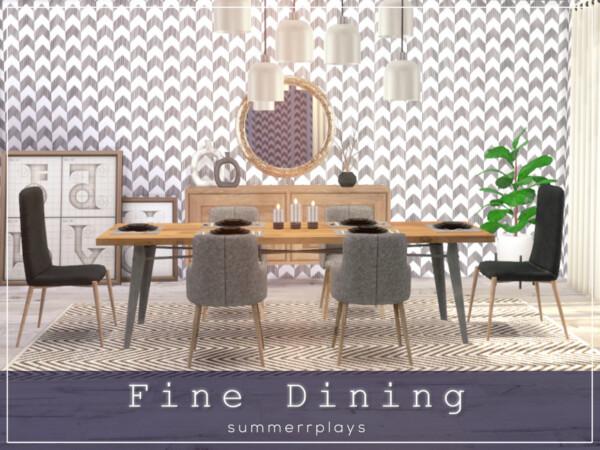 Fine Diningroom by Summerr Plays from TSR