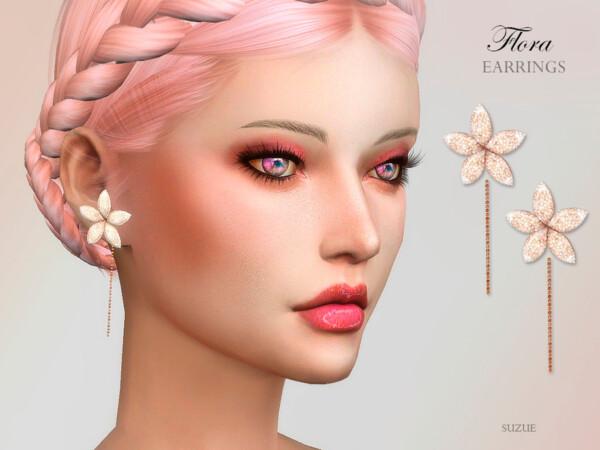 Flora Earrings by Suzue from TSR