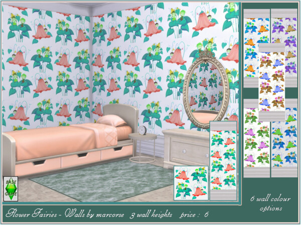 Flower Fairies Walls by marcorse from TSR