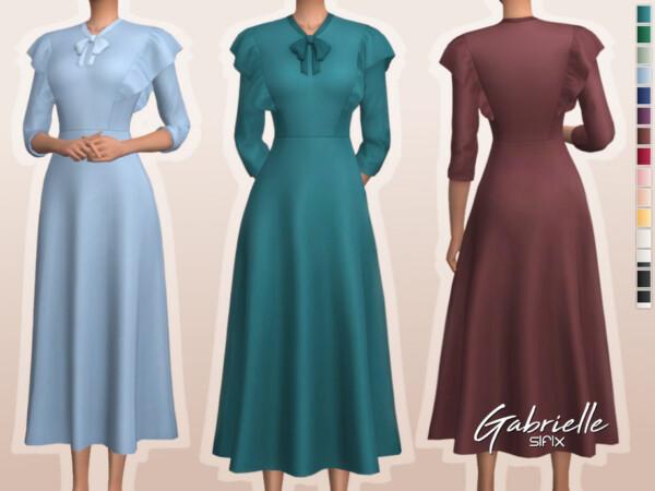 Gabrielle Dress by Sifix from TSR