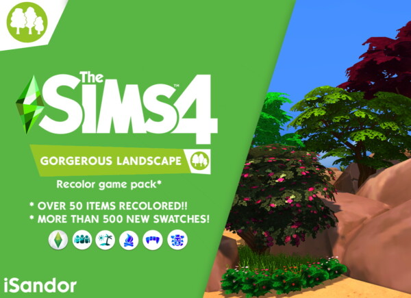 Gorgerous landscape  by iSandor from Mod The Sims