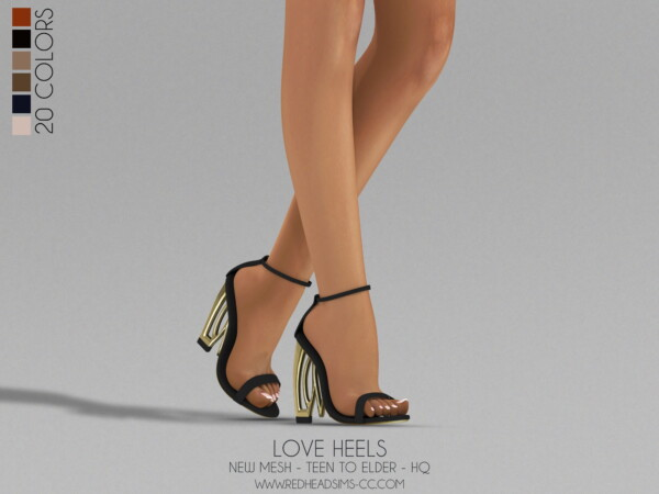 Beautiful Heels from Red Head Sims