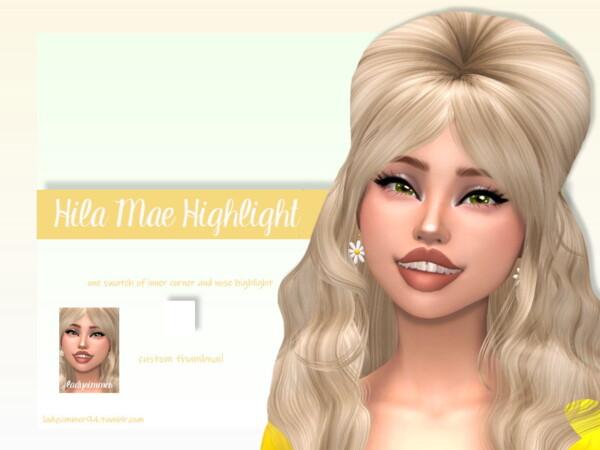 Hila Mae Highlight by LadySimmer94 from TSR