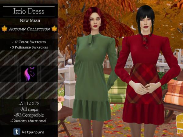 Itrio Dress by KaTPurpura from TSR