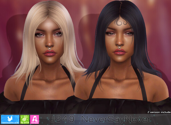 J249 Never Say Never Donation Hairstyle from NewSea