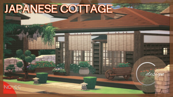 Japanese Cottage from Cross Design