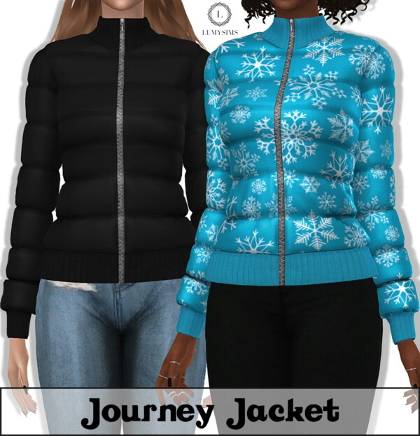 Journey Jacket from LumySims