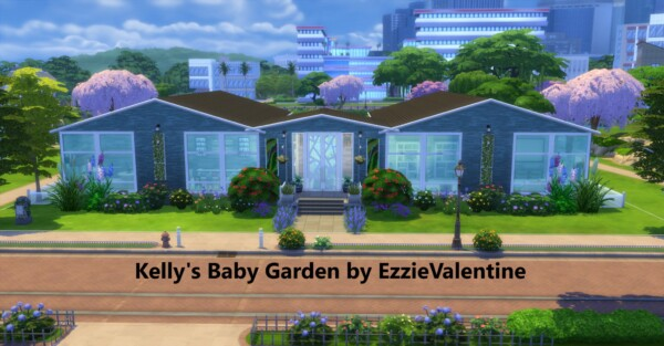 Kellys Baby Garden by EzzieValentine from Mod The Sims