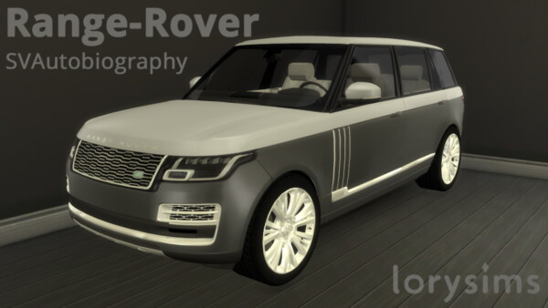 Land Rover Range Rover from Lory Sims