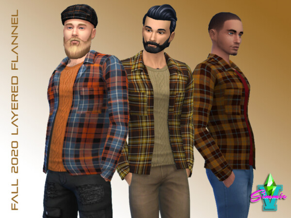 Layered Flannel by SimmieV from TSR