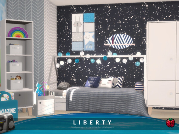 Liberty kidsroom by melapples from TSR