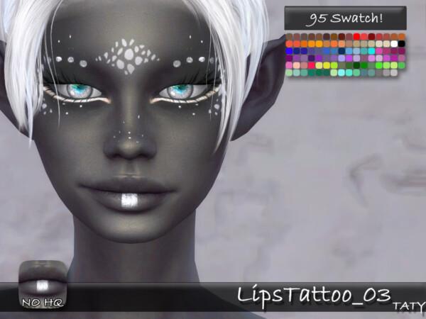 LipsTattoo 03 by tatygagg from TSR