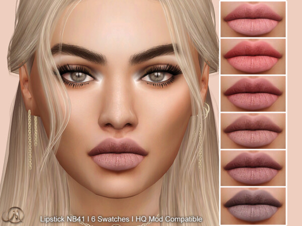 Lipstick NB41 from MSQ Sims