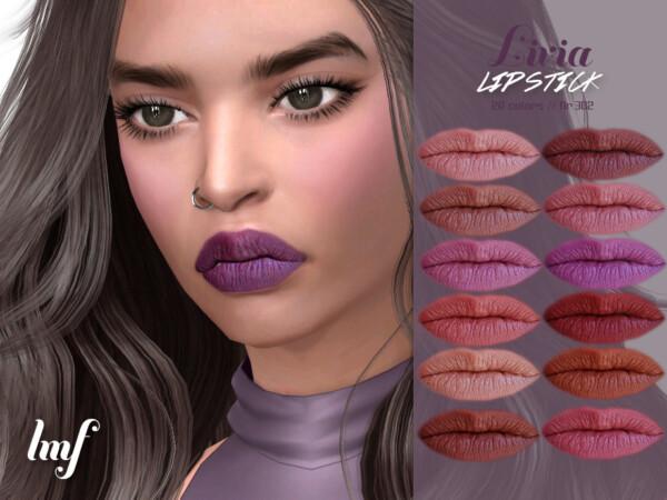 Livia Lipstick N.302 by IzzieMcFire from TSR