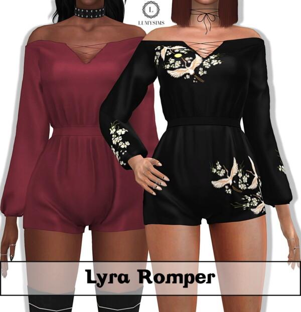 Lyra Romper from LumySims