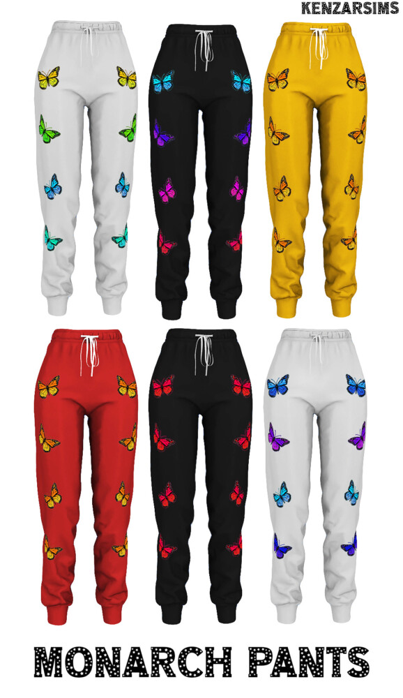 Monarch Pants from Kenzar Sims