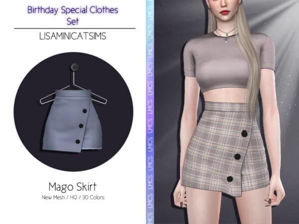 Mago Skirt by Lisaminicatsims from TSR