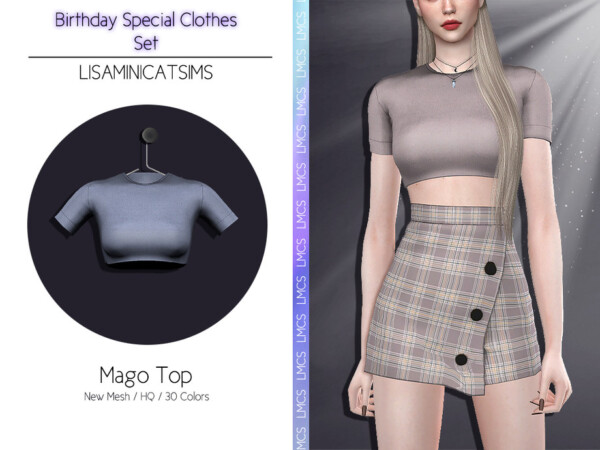 Mago Top by Lisaminicatsims from TSR