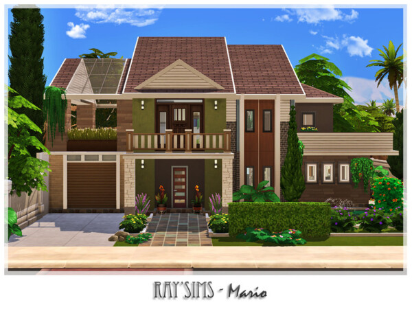 Mario House by Ray Sims from TSR