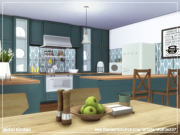 Midori Kitchen by sharon337 from TSR