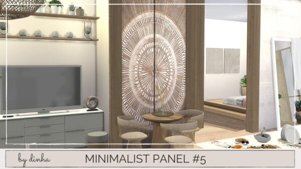 Minimalista Panel from Dinha Gamer