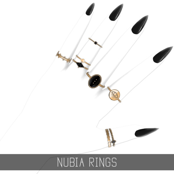Nubia Rings from Simpliciaty