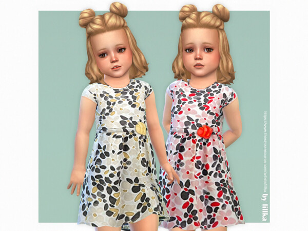 Nora Dress by lillka from TSR