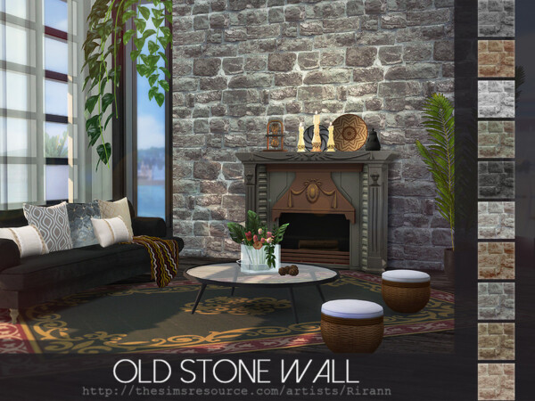 Old Stone Wall by Rirann from TSR