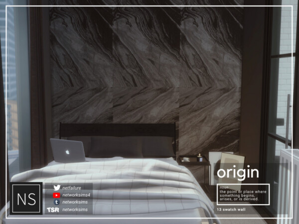 Origin Marble Walls by Networksims from TSR