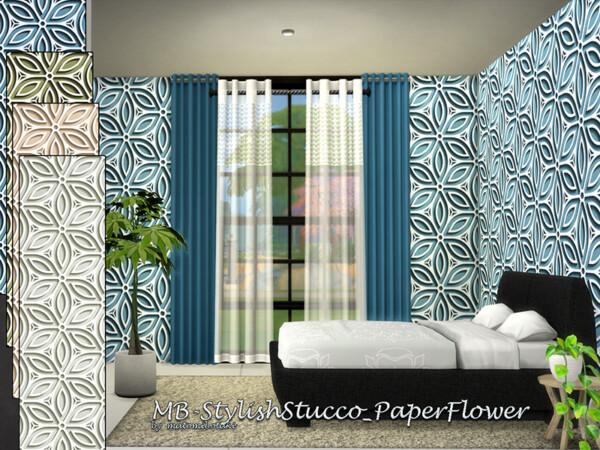 Paper Flower Walls by matomibotaki from TSR