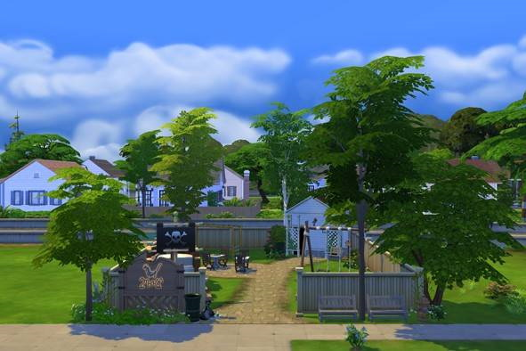 Park for kids de Foundry Cove by BySweetSims from Luniversims