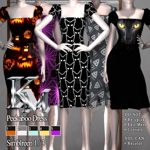 Peekaboo Dress from KM