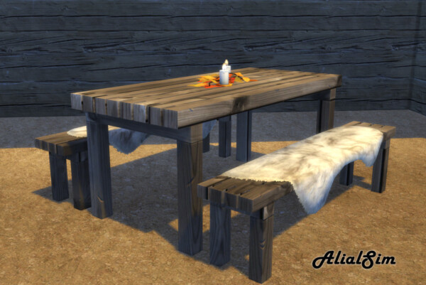 Picnic Table from Alial Sim