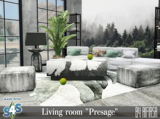 Livingroom Presage from Aifirsa Sims